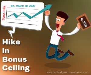 central_government_bonus_hike_2015_approved