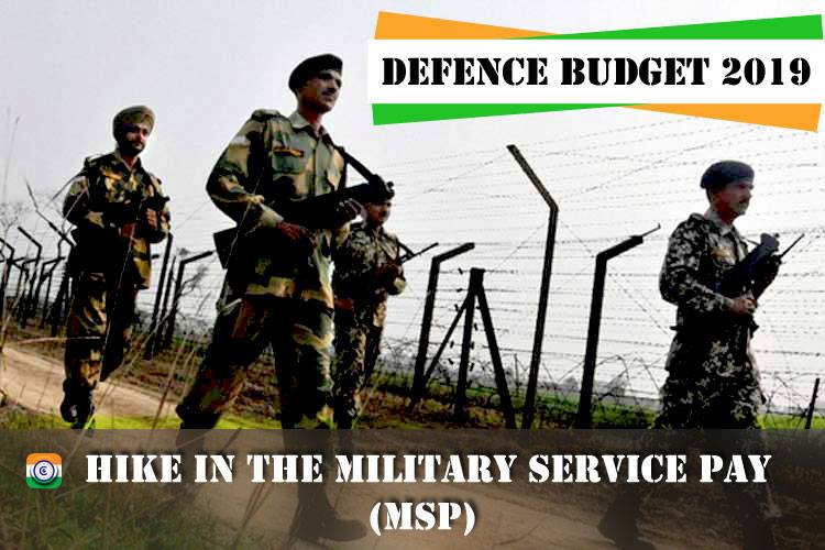 defence-budget-2019-Military-Service-Pay-Hike