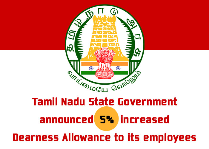 ALLOWANCES - 5 percent Dearness Allowance - Enhanced Rate of Dearness  Allowance from 1st July 2019- Orders