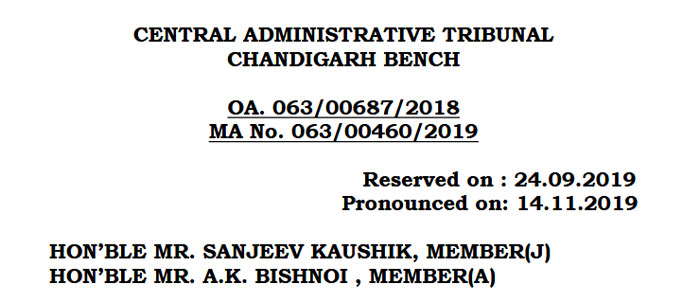 Promotion-MACP-Grade-Pay-CAT-Chandigarh-judgement