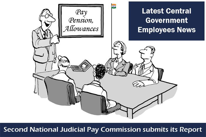 Latest Central Government Employees News pay commission pay pension allowances