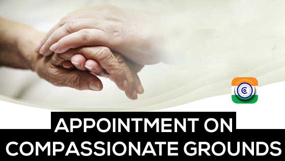 Reservation in Appointment on Compassionate Ground Group 'C' posts