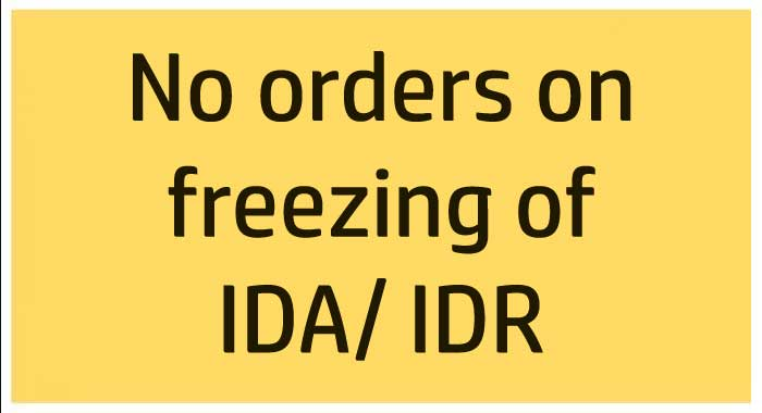 No order for central government pensioners to freeze IDA / IDR -DOT Clarification