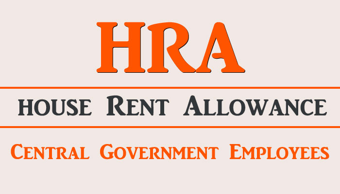 HRA Central-Government Employees House Rent Allowance