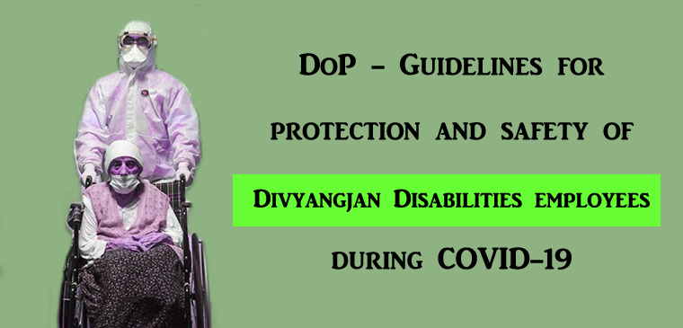 Divyangjan Employees Disabilities -DoP