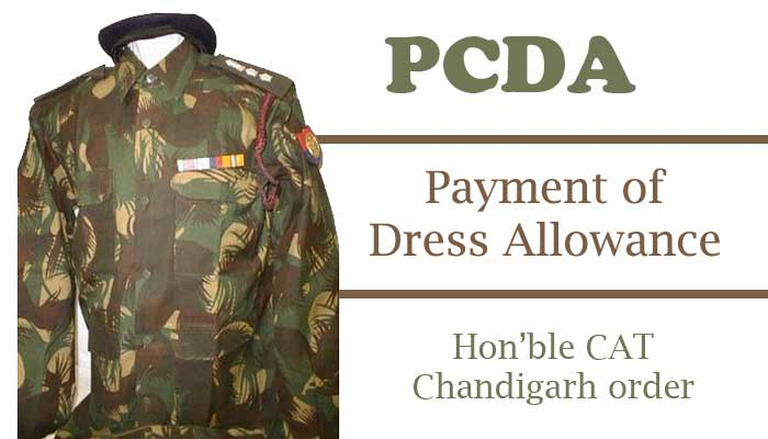Payment of Dress Allowance