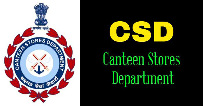 CSD Canteen facility to Defence Civilian Employees