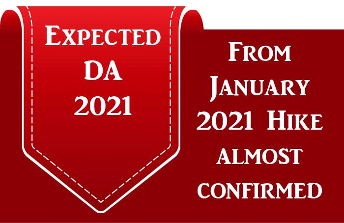 Expected DA 2021 Central Government Employees