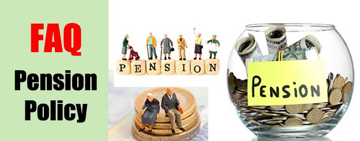Central Government servant PENSION POLICY