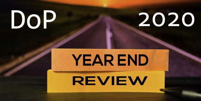 YEAR END REVIEW 2020, DoP - DEPARTMENT OF POSTS