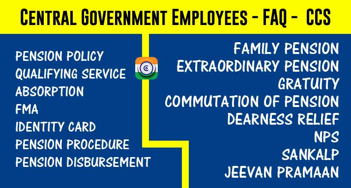 Central Government Employees - FAQ -  CCS