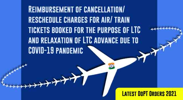 LTC Cancellation Charges of Air Ticket